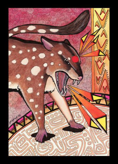 Quoll - Totem by Ravenari