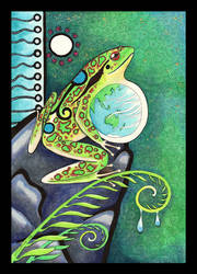 Frog as Totem by Ravenari