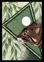 Feral Cat as Totem by Ravenari