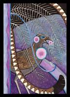 Lyrebird as Totem by Ravenari