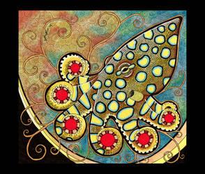 Blue Ringed Octopus as Totem by Ravenari
