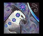 Harpy Eagle as Totem by Ravenari