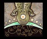 Hellbender Salamander as Totem