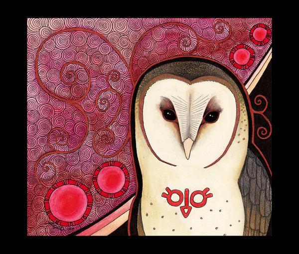 Barn Owl as Totem by Ravenari on DeviantArt