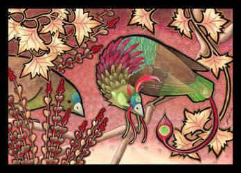 The Kirin Moon-Sickle by Ravenari