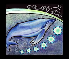 Humpback Whale as Totem by Ravenari