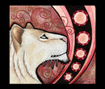 White Lioness as Totem