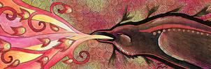 Raven of Fire by Ravenari