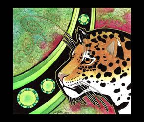 Jaguar as Totem by Ravenari