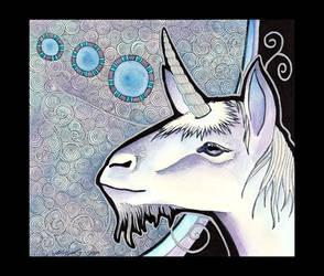 Unicorn as Totem by Ravenari
