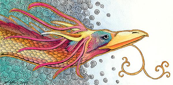 Dragon of Air by Ravenari