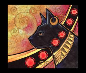 Bast - Cat as Totem by Ravenari