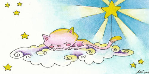 04. Startail Sleeping by Ravenari