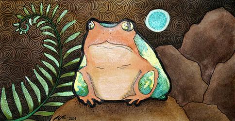 Earth Frog by Ravenari