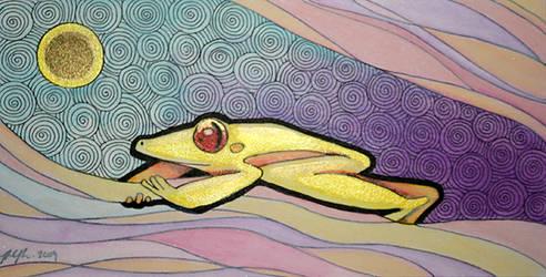 Air Frog by Ravenari