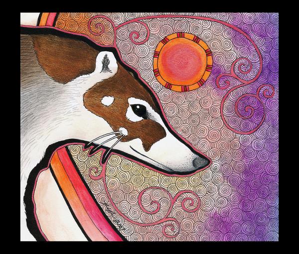 White-Nosed Coati as Totem by Ravenari