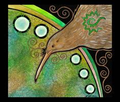 Kiwi as Totem by Ravenari
