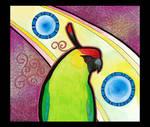 Horned Parakeet as Totem