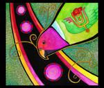 Plum Headed Parakeet as Totem