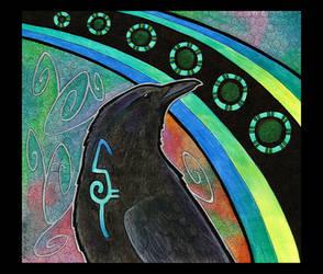 American Crow as Totem by Ravenari