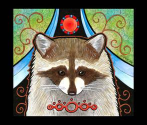 Raccoon as Totem by Ravenari