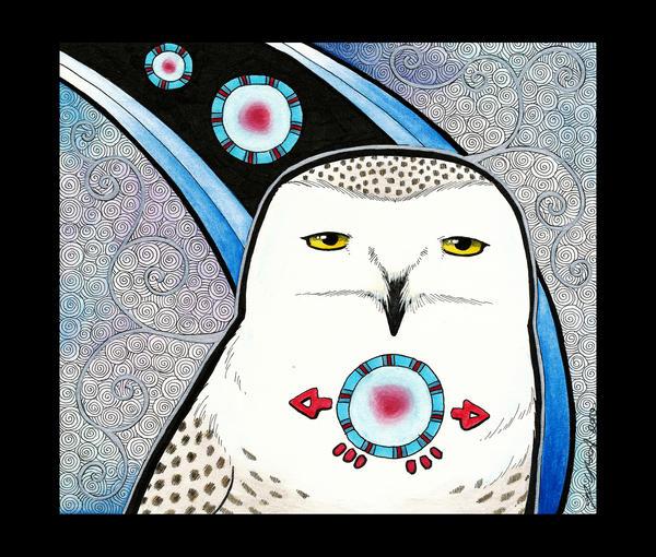 Snowy Owl As Totem By Ravenari On Deviantart