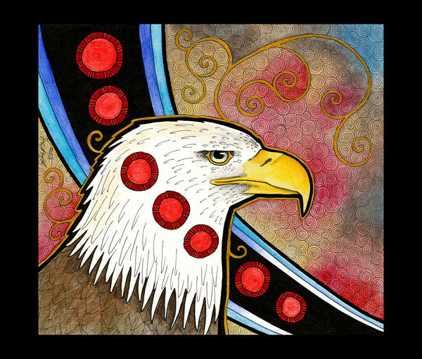 Bald Eagle as Totem by Ravenari