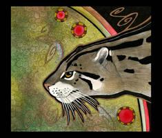 Fishing Cat as Totem by Ravenari