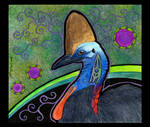 Cassowary as Totem 02