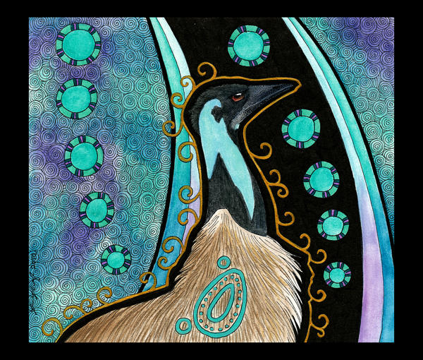 Emu as Totem 02 by Ravenari
