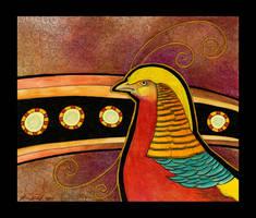 Golden Pheasant as Totem by Ravenari