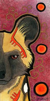 MT 06 - African Wild Dog