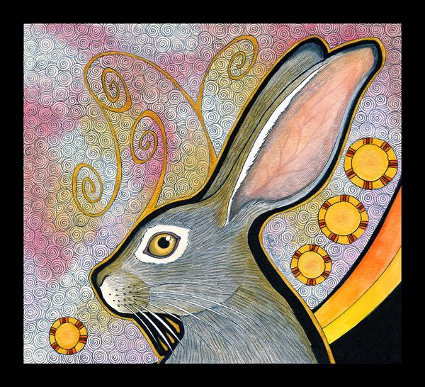 Cape Hare as Totem by Ravenari