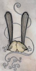Silver Wrens by Ravenari