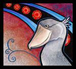 Shoebill Stork as Totem