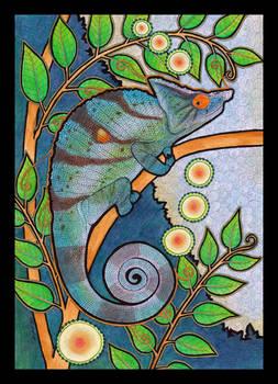 Parson's Chameleon as Totem