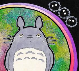 Totoro as Totem by Ravenari