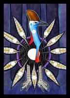 Cassowary as Totem II by Ravenari