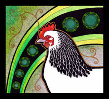 Sussex Hen as Totem