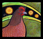 Rhode Island Red as Totem