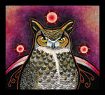 Great Horned Owl as Totem