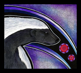 Honey Badger as Totem by Ravenari