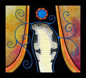 King Cobra as Totem by Ravenari