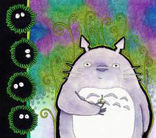 Liam's Totoro by Ravenari