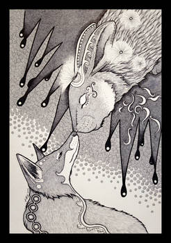 Night Rabbit and the Dream Fox