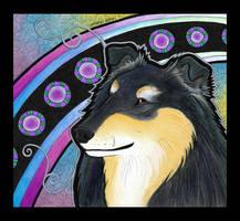 Rough Collie as Totem by Ravenari