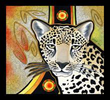 Arabian Leopard as Totem by Ravenari
