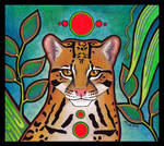 Red Circle Ocelot