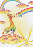 The Giraffe who Sang Rainbows into Being