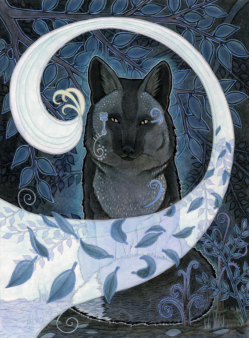 The Black Fox by Ravenari